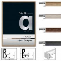 Aluminiumrahmen  *Alpha Magnet*  fundiert verschiedene Größen und Farben