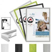 Alurahmen, Brandschutzrahmen C2-B1 Aluminiumrahmen, 4 Farben
