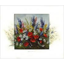 Kunstdruck Blumenwiese 50x60 cm