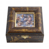 "Oro modelada Jewel ""picnic"", 16,5 x 15,5 cm"