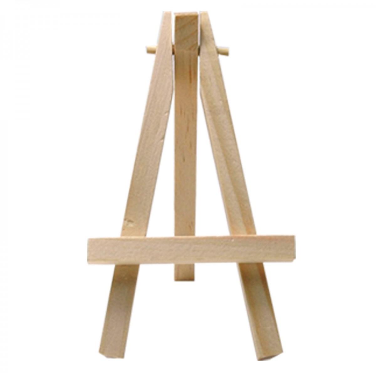 10x kleine mini Tisch Staffelei – Visittenkartenhalter – Holzstaffelei