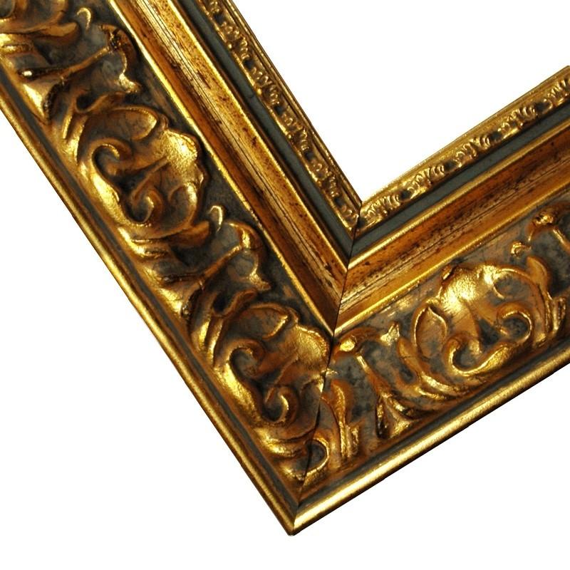 ohne Glas und Rückwand Barockrahmen gold Barockrahmen 972 ORO gold verziert