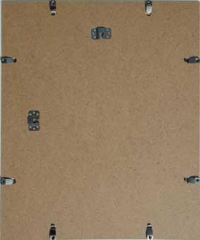 Rahmenloser bilderhalter polystyrolglas antireflex for Spiegel reparieren