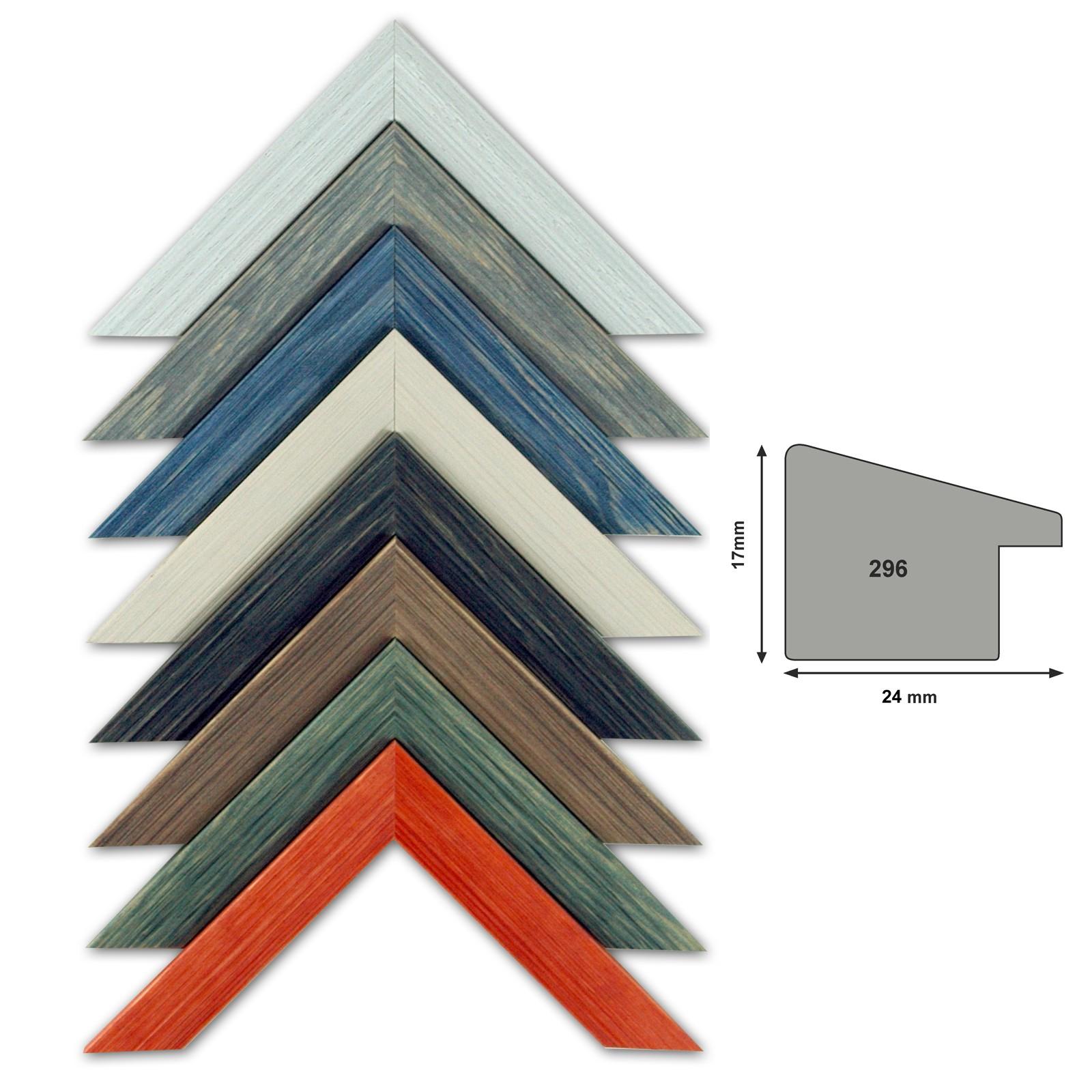 Bilderleiste 296 24 mm Profilbreite wählbar in 8 Farben