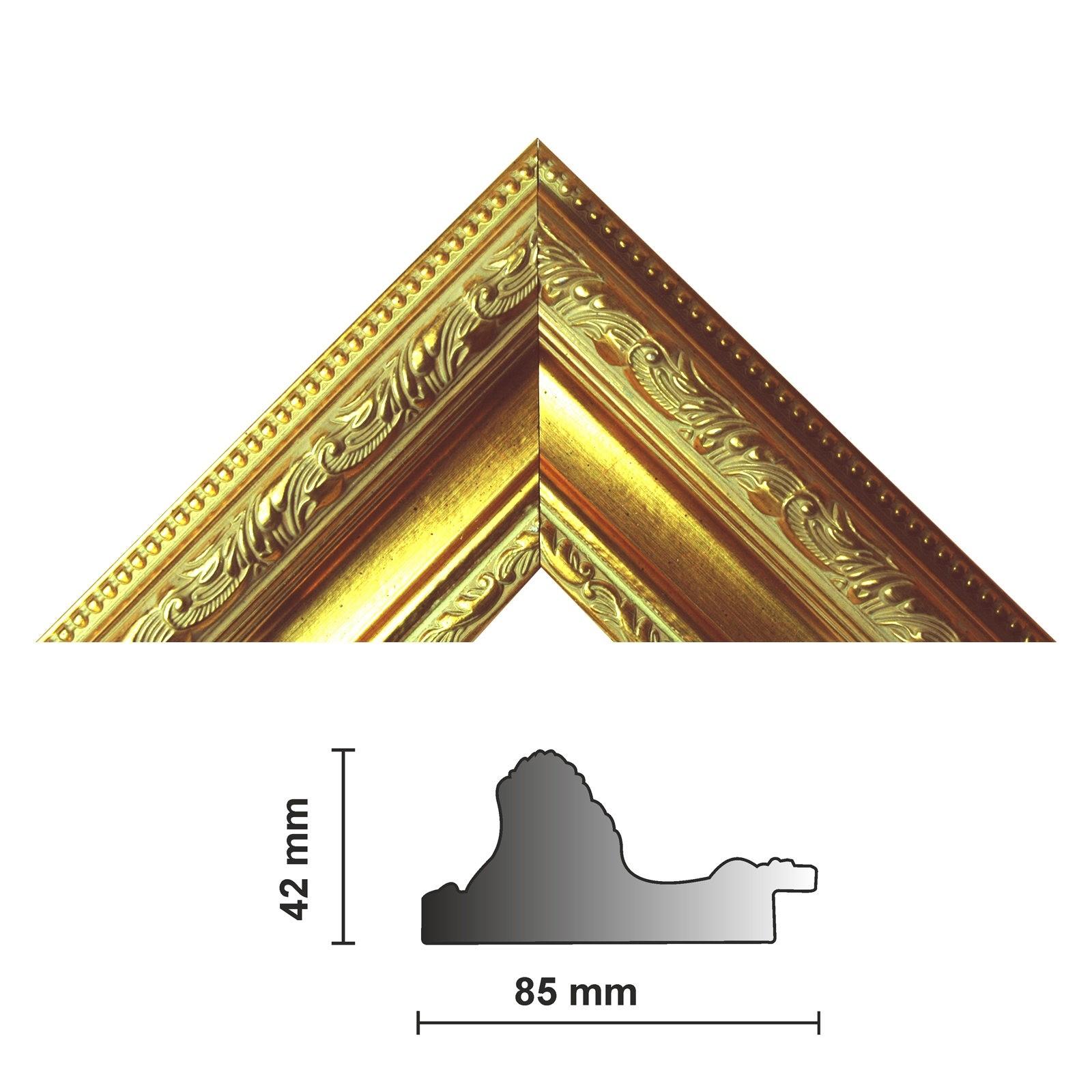 Bilderleiste 837 ORO 85 mm gold verziert