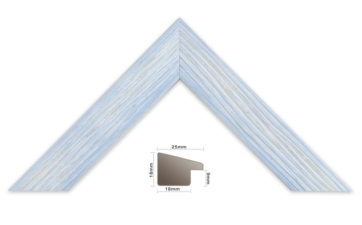 Bilderleiste Holz 227 BLUE