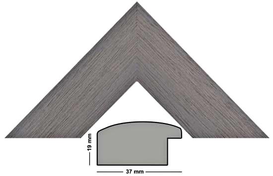 Bilderleiste Holz Imperial 2426 GRI grau