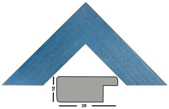Bilderleiste Holz 2406 BLU