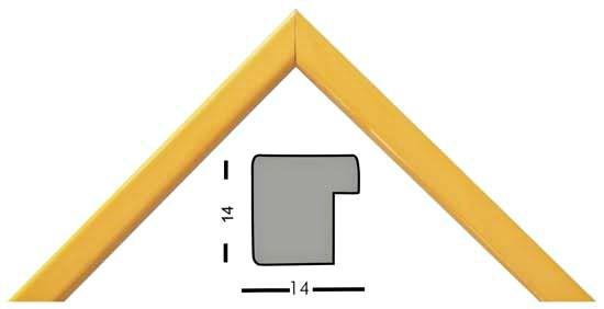 Bilderleiste Holz 331 GIA gelb