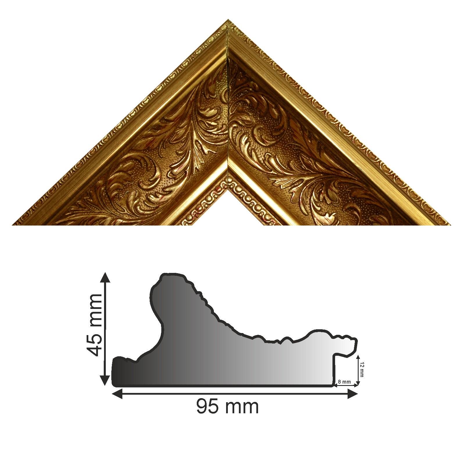 Bilderleiste 992 ORO gold verziert
