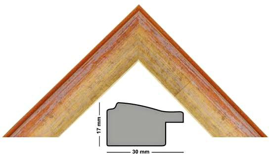 Bilderleiste Holz 340 ARA