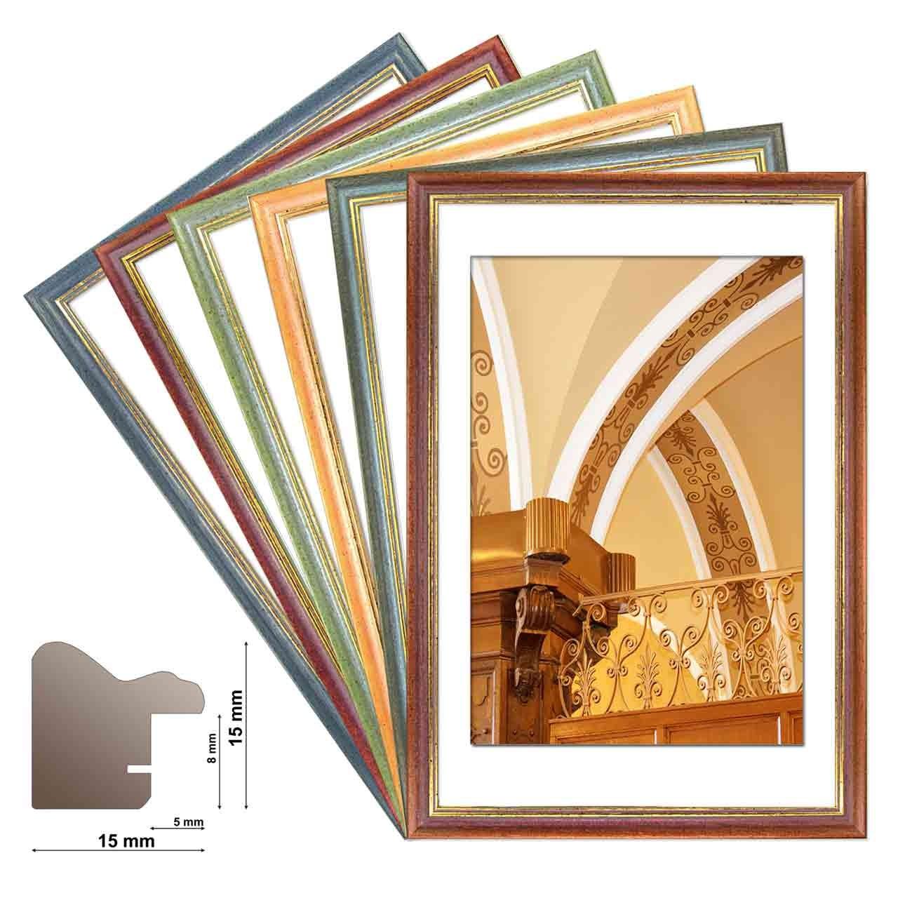 Holzrahmen LAFAYETTE Wechselrahmen in 6 Farben