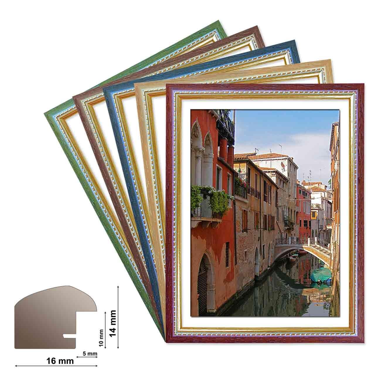 Holzrahmen MAILAND Wechselrahmen in 5 Farben