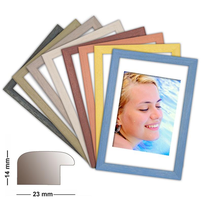Holzrahmen Pazific in 8 matten Farben