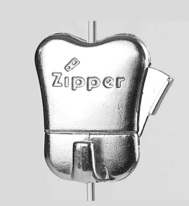 "Verstellbarer Haken ""Zipper"" bis 10 kg"