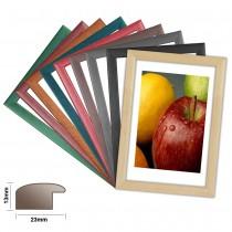 Holzrahmen ATLANTIC, in 8 matten Farben