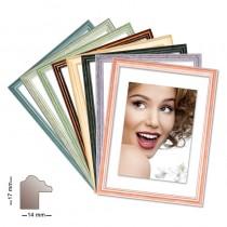 Holzrahmen CHARLESTON, in 8 Farben, verschiedene Formate