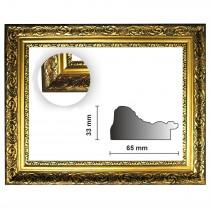 Barockrahmen gold fein verziert 840 ORO