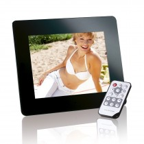 "Digital Photo Frame-Slim 8"" Photo Promotor"