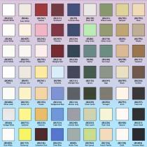 Berkshire matboard 813x1205 mm, colori diversi