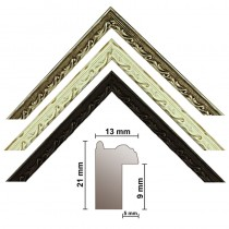 Picture strip 670, 3 colors, finely decorated