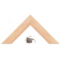 Bilderleiste Holz 227 ARA, lachs orange